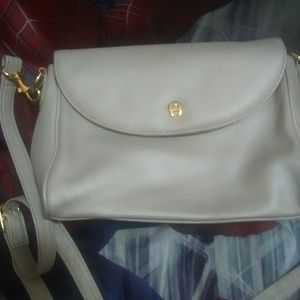 Etienne Aigner leather size9x6x2 $28+ free $5 gift